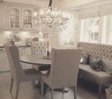Round Dining Room Tables Decoration Ideas 110