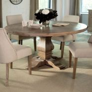Round Dining Room Tables Decoration Ideas 130