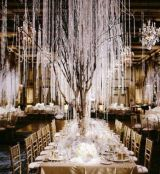 Captivating Beautiful Winter Wedding Decoration Ideas