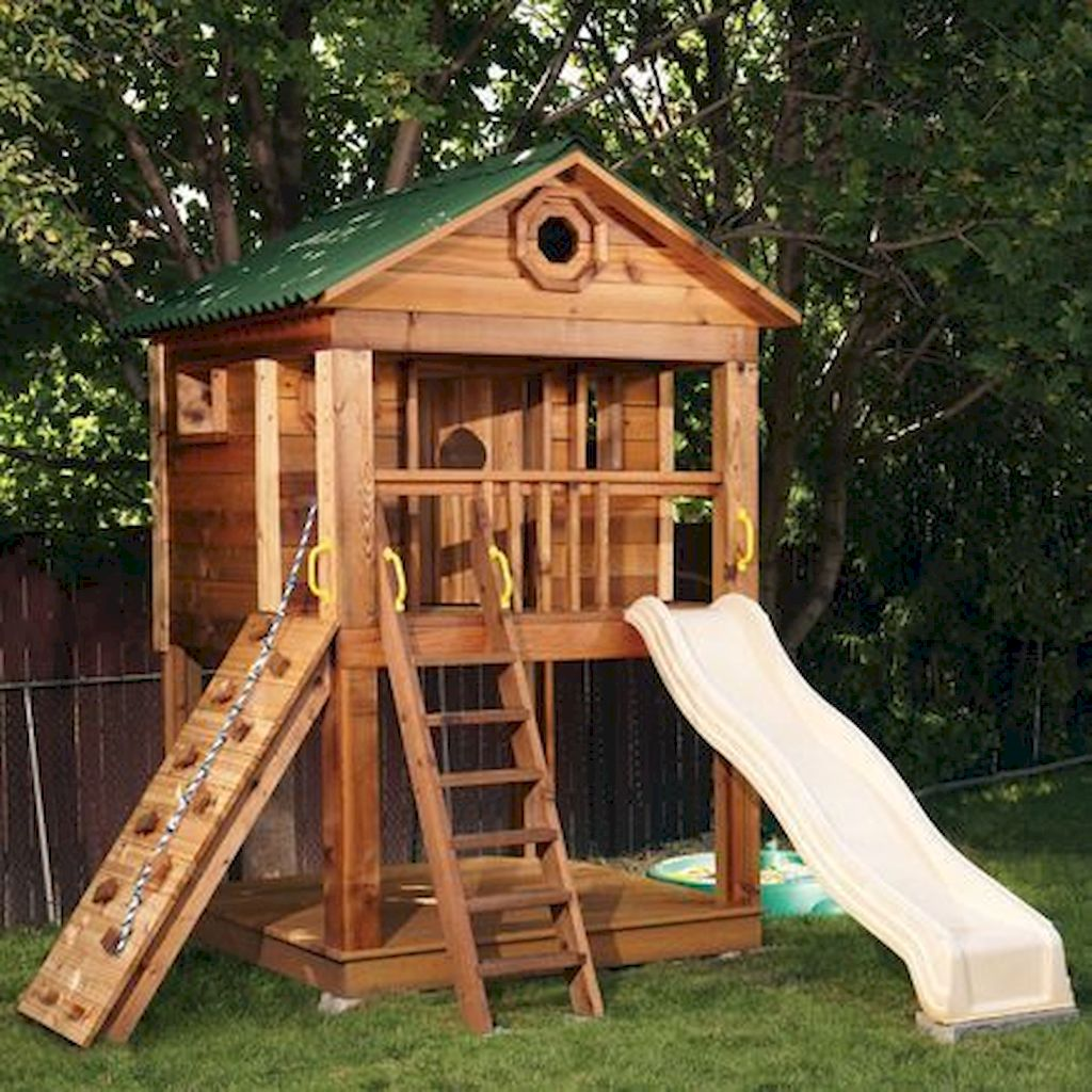Cool Playhouse Plan Into Your Existing Backyard Space