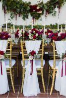 Elegant Beautiful Winter Wedding Decoration Ideas