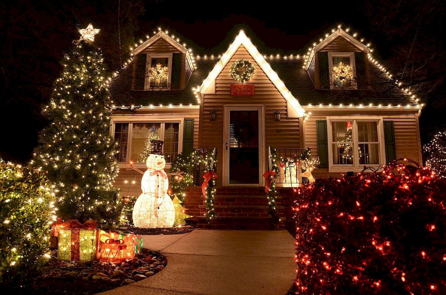 Fantastic Outdoor Christmas Lights Decoration Ideas