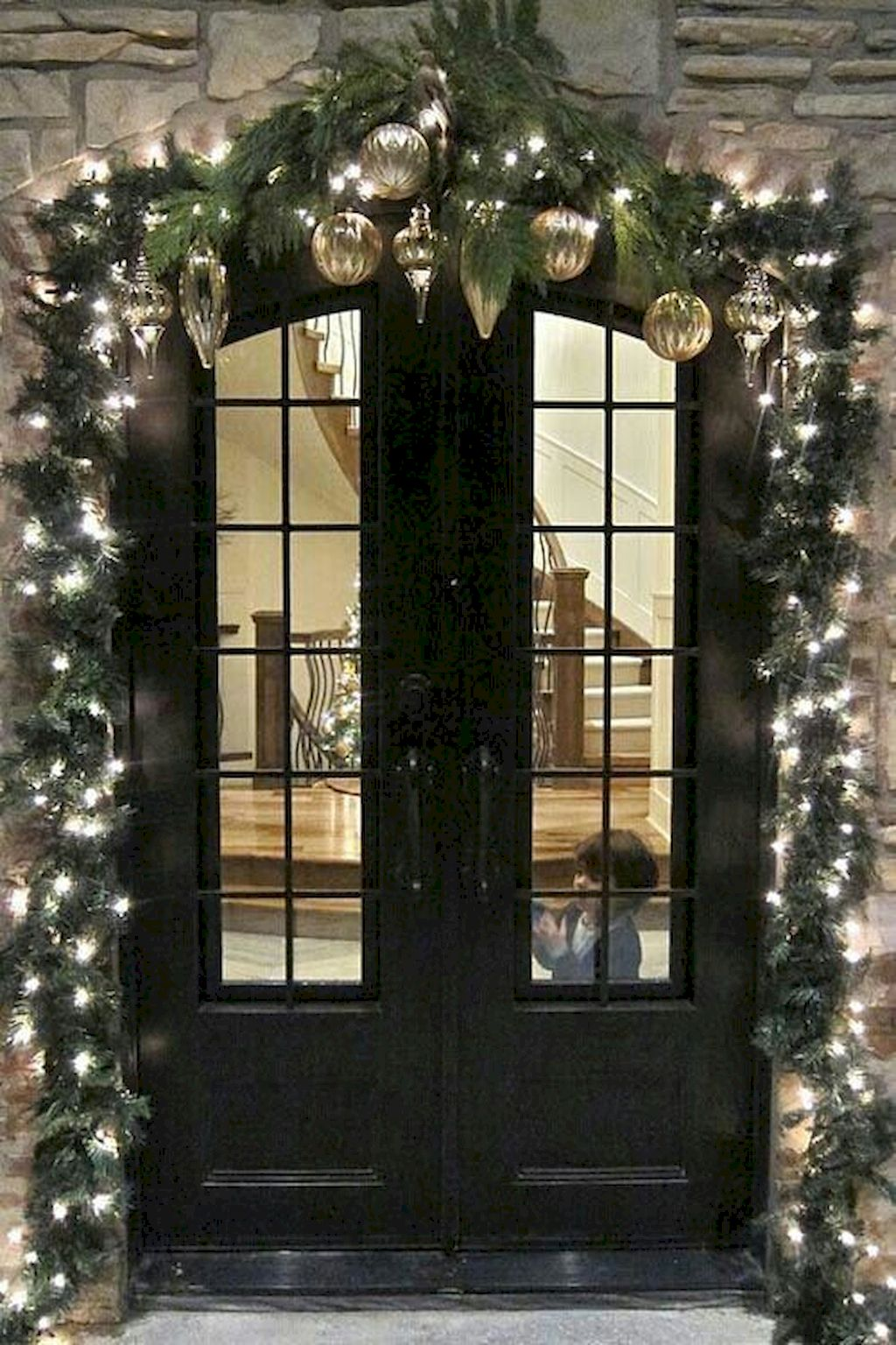 Fine Outdoor Christmas Lights Decoration Ideas