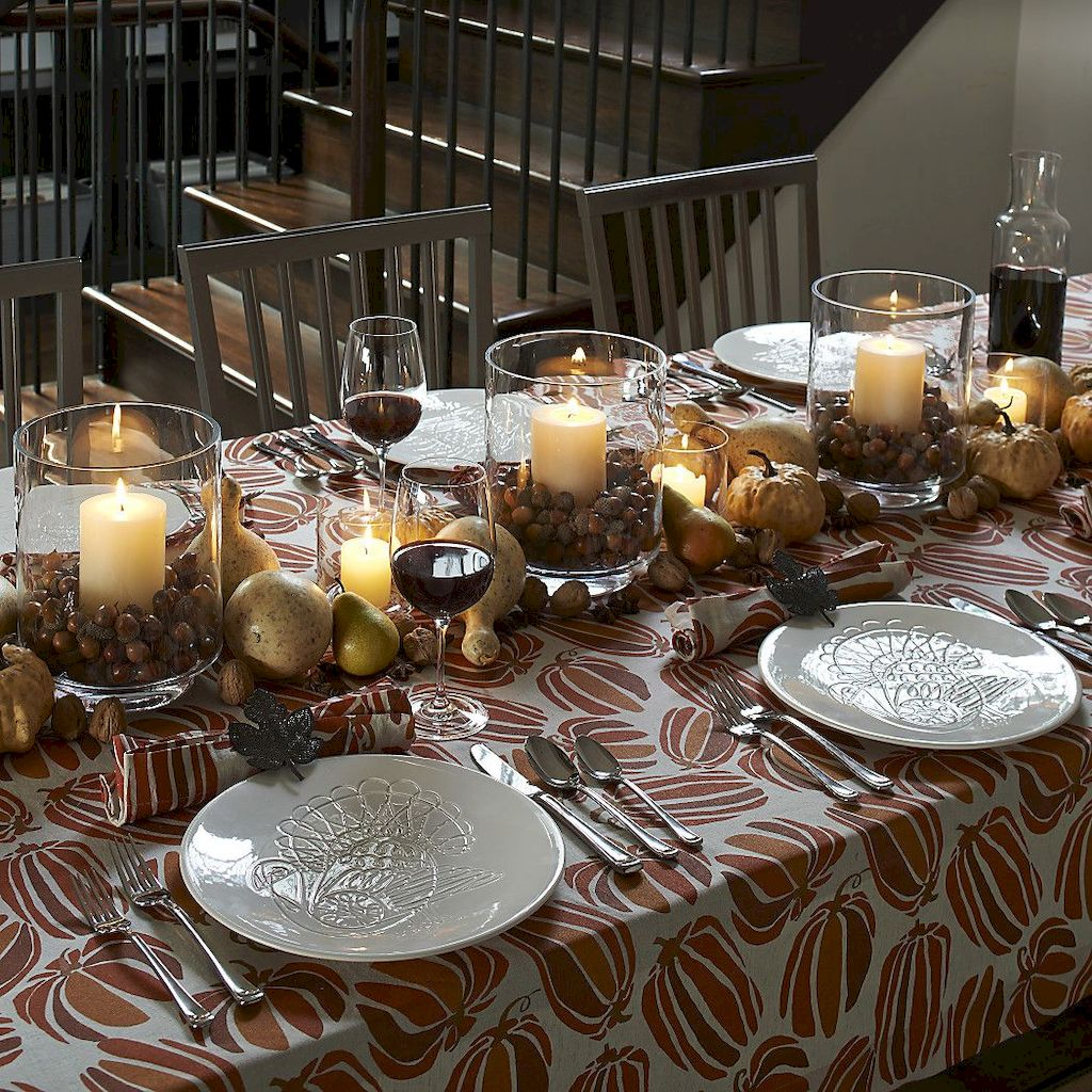 Great Thanksgiving Candle Displays Ideas And Placements