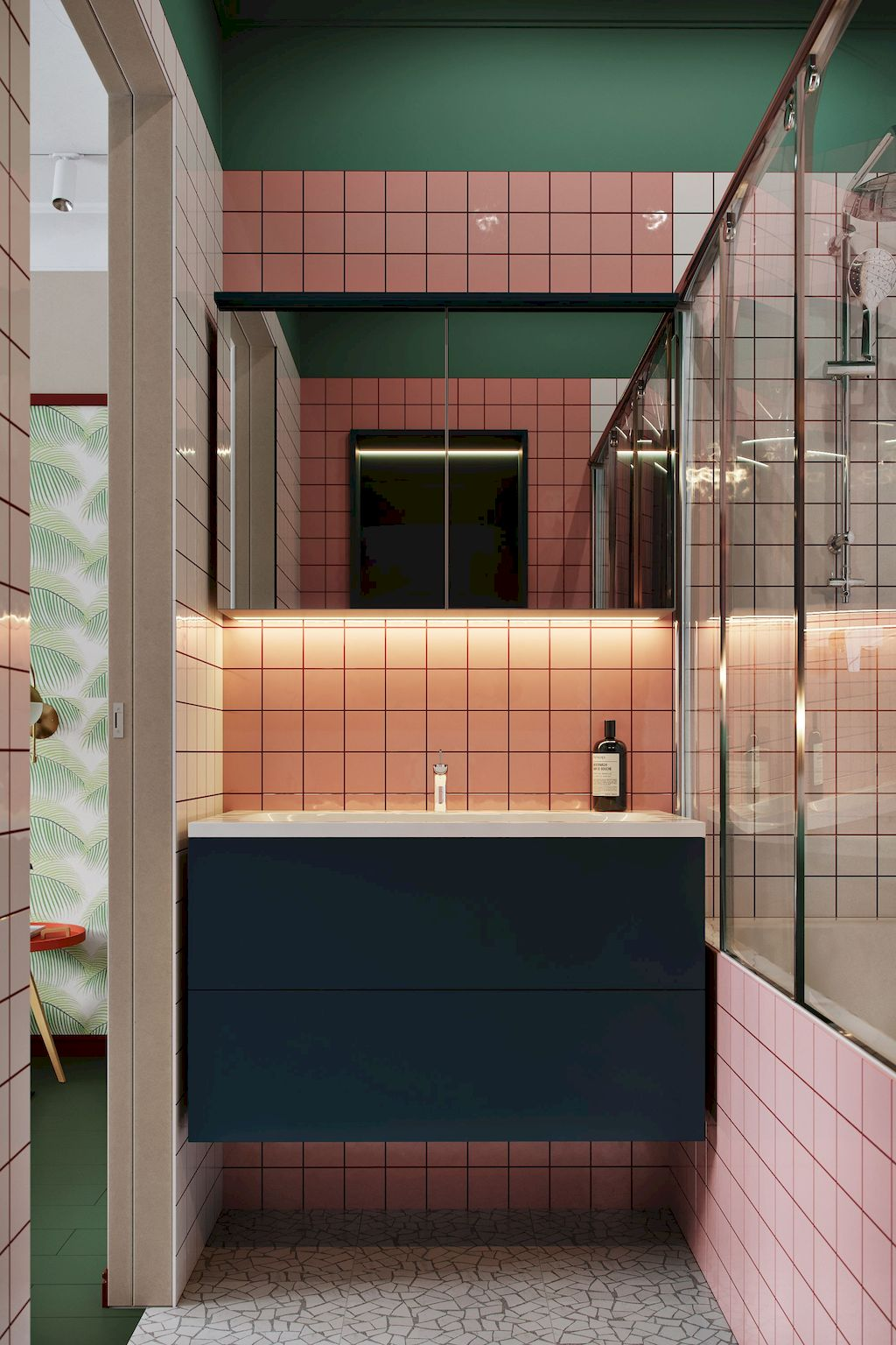Implausible Stylish Color Scheme For Your Bathroom