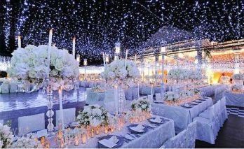 Incredible Beautiful Winter Wedding Decoration Ideas