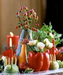 Nice Thanksgiving Candle Displays Ideas And Placements