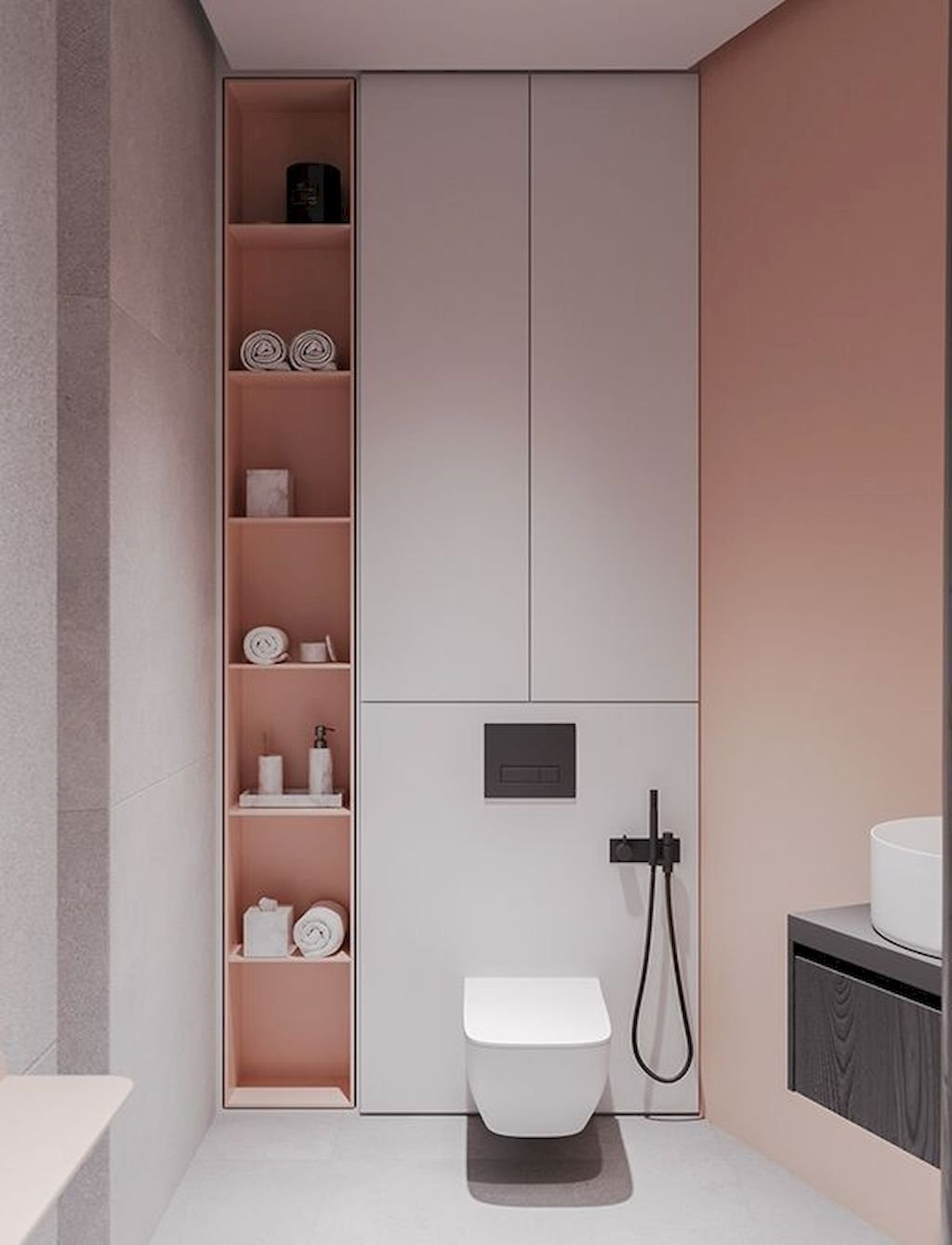 Prodigious Stylish Color Scheme For Your Bathroom