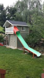 Sumptuous Playhouse Plan Into Your Existing Backyard Space