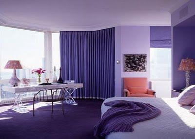 Modern Purple Bedroom Ideas