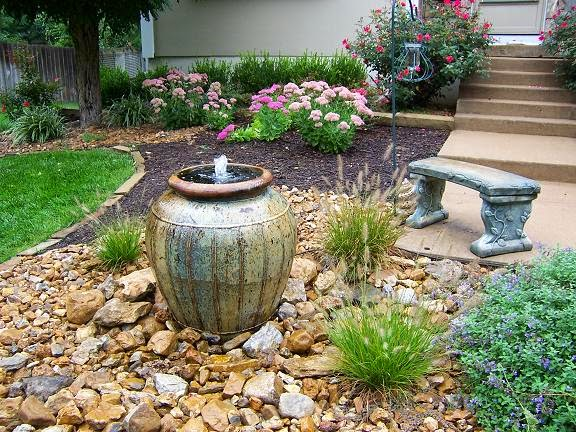 Small Garden Fountains Suggestions - hometyler on Home Garden Fountain Design id=92118