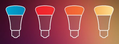 HUE bulb rainbow