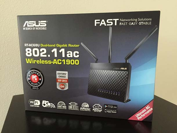 how to change wifi chanel in asus rt-ac68u
