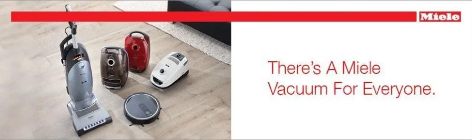 Miele Range of Vacuums