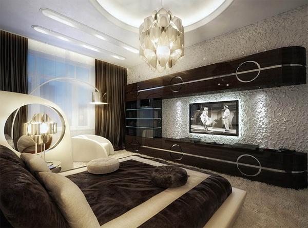 creative luxury bedroom