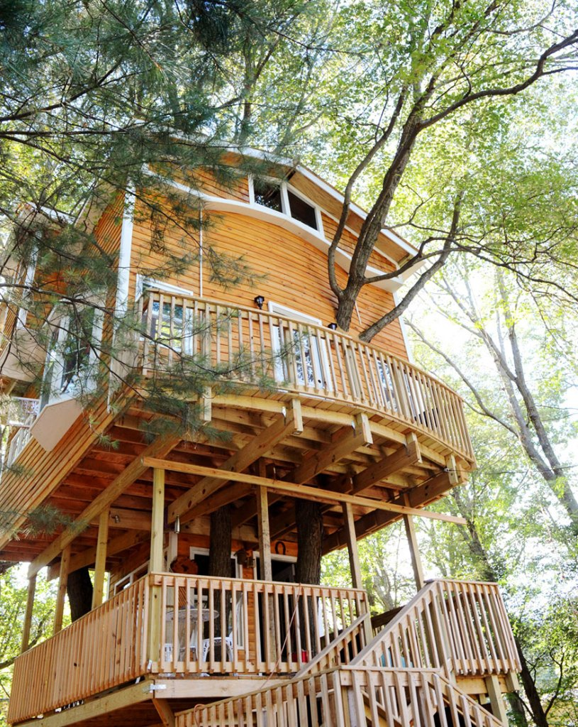 3 Stories Treehouse