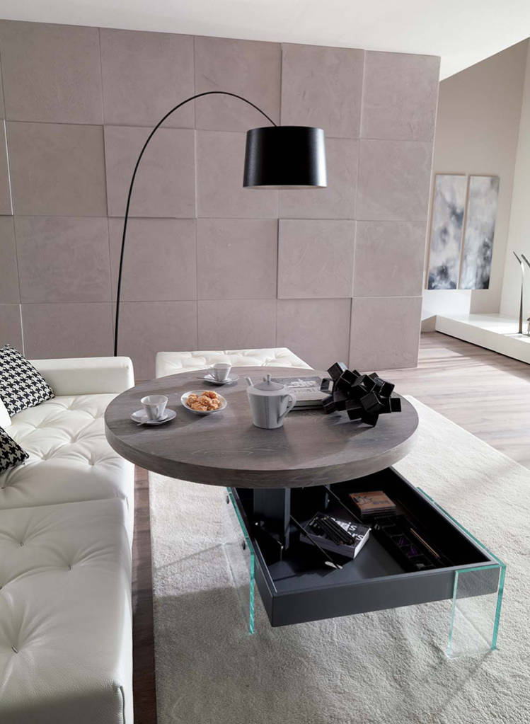 Multifunctional coffee Table Bellagio Round
