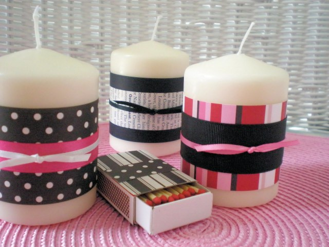 great decorating candles