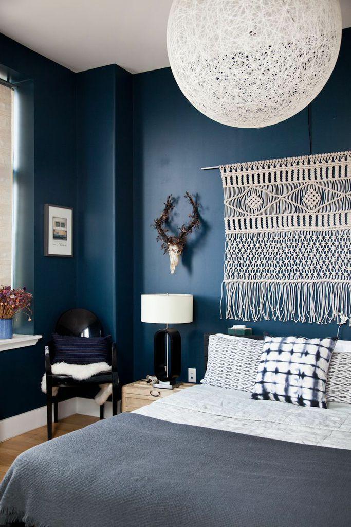 dark blue bedroom 2