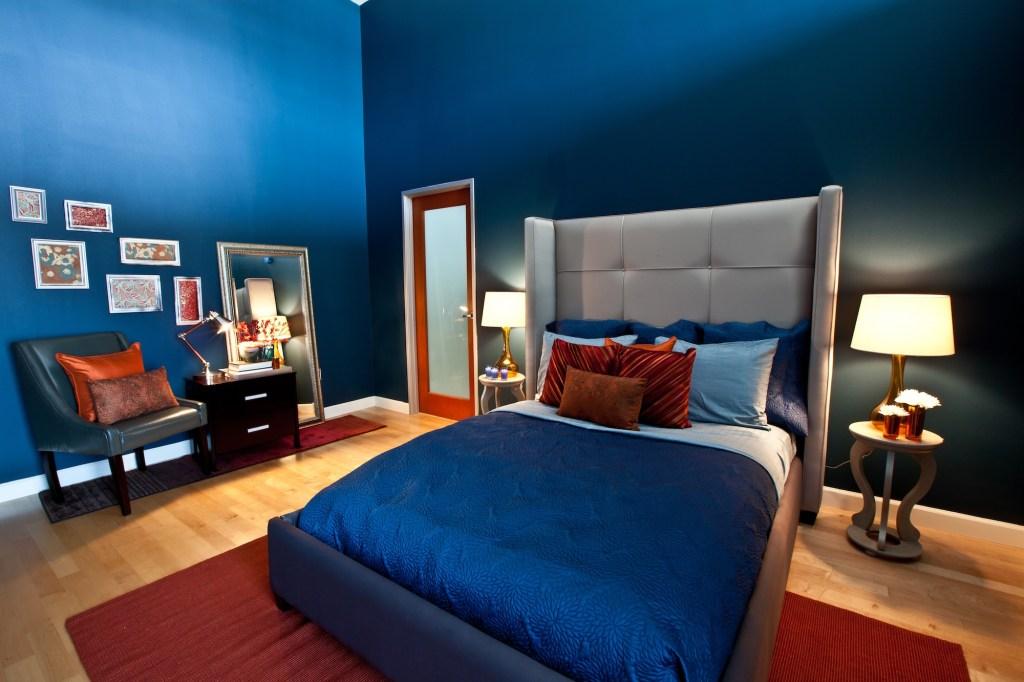 11 Wonderful Dark Blue Bedroom Ideas Home Vanities