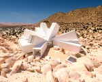 Desert Flower Shaped Shipping Container Home – Whitaker Studio