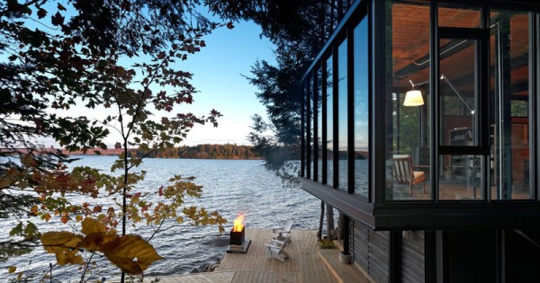 Ontario Modern Boat House