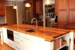 wood kitchen countertops - how to take care