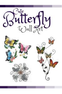 Metal Butterfly Wall Art - Metal Home Wall Art Decor