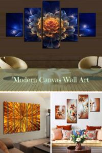 trendy stylish and bold canvas wall art home wall art decor
