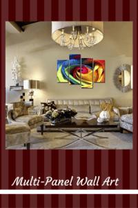 MultiPanel Wall Art - Multi panel home wall art decor