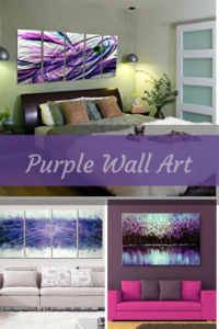 Purple Wall Art