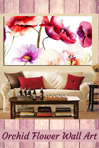 Orchid Flower Wall Art (1)