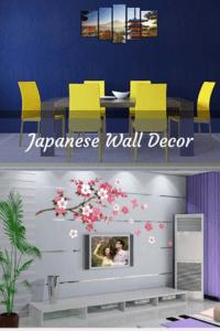 Japanese-Wall-Decor-Japanese Home Wall Art Decor