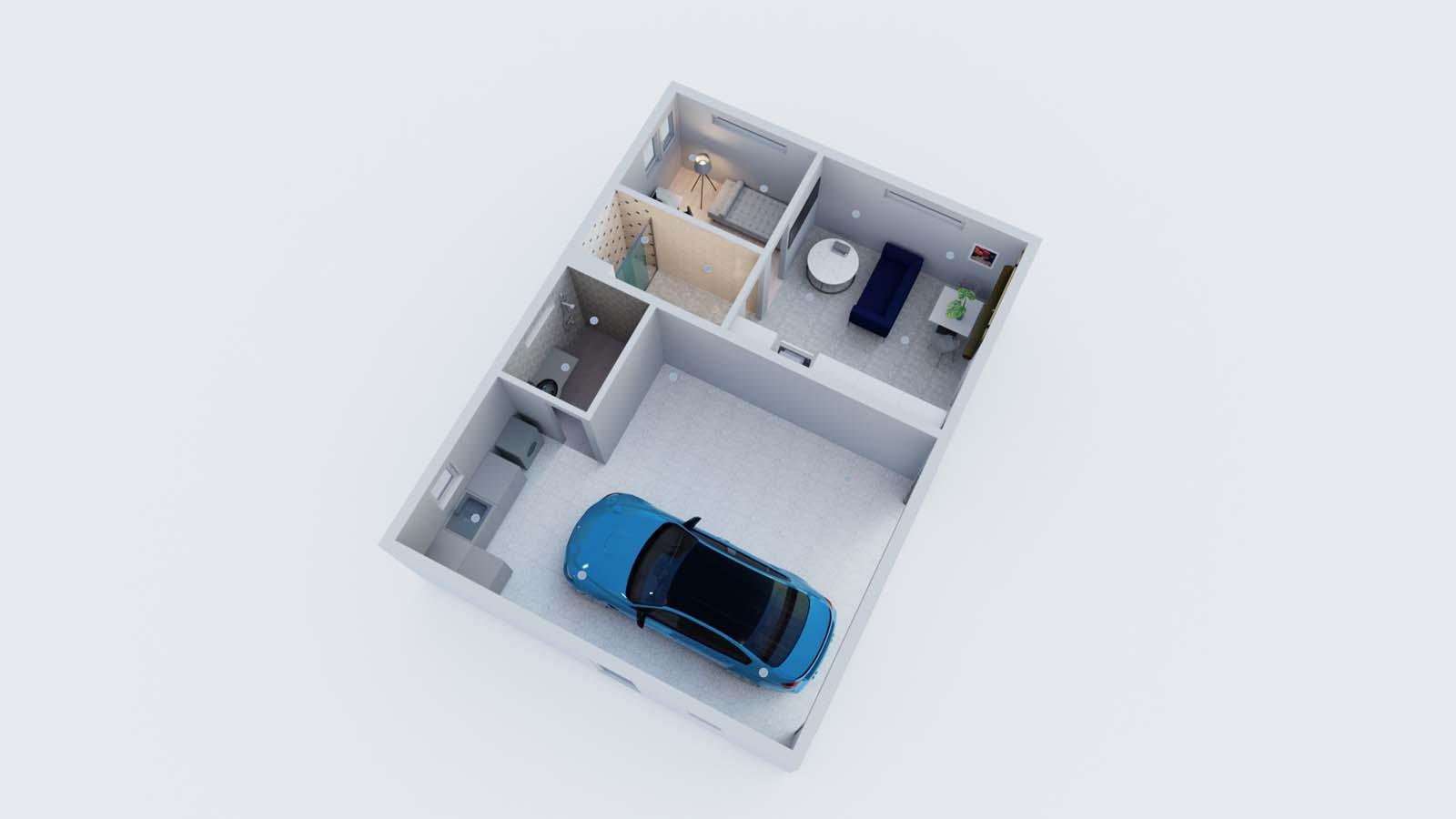 ADU with garage