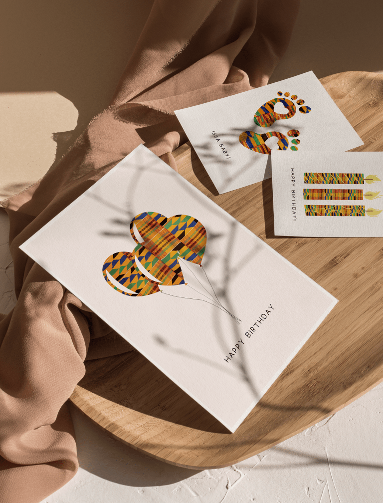 African black greeting cards for any occassion