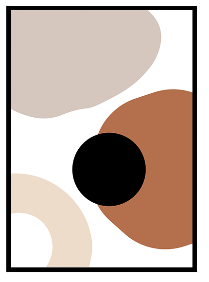 Abstract afro shapes