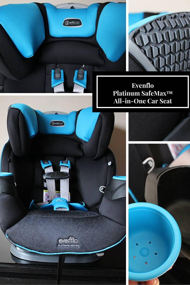 Latinum SafeMaxTM All In One Car Seat