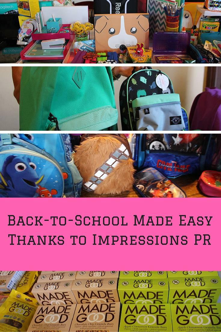 back-to-school impressions pr