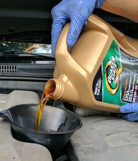 How to do your own oil change with quaker state ultimate durability i dont know whether i am more excited to learn how to do my own engine oil change myself or share my knowledge with you solutioingenieria Images