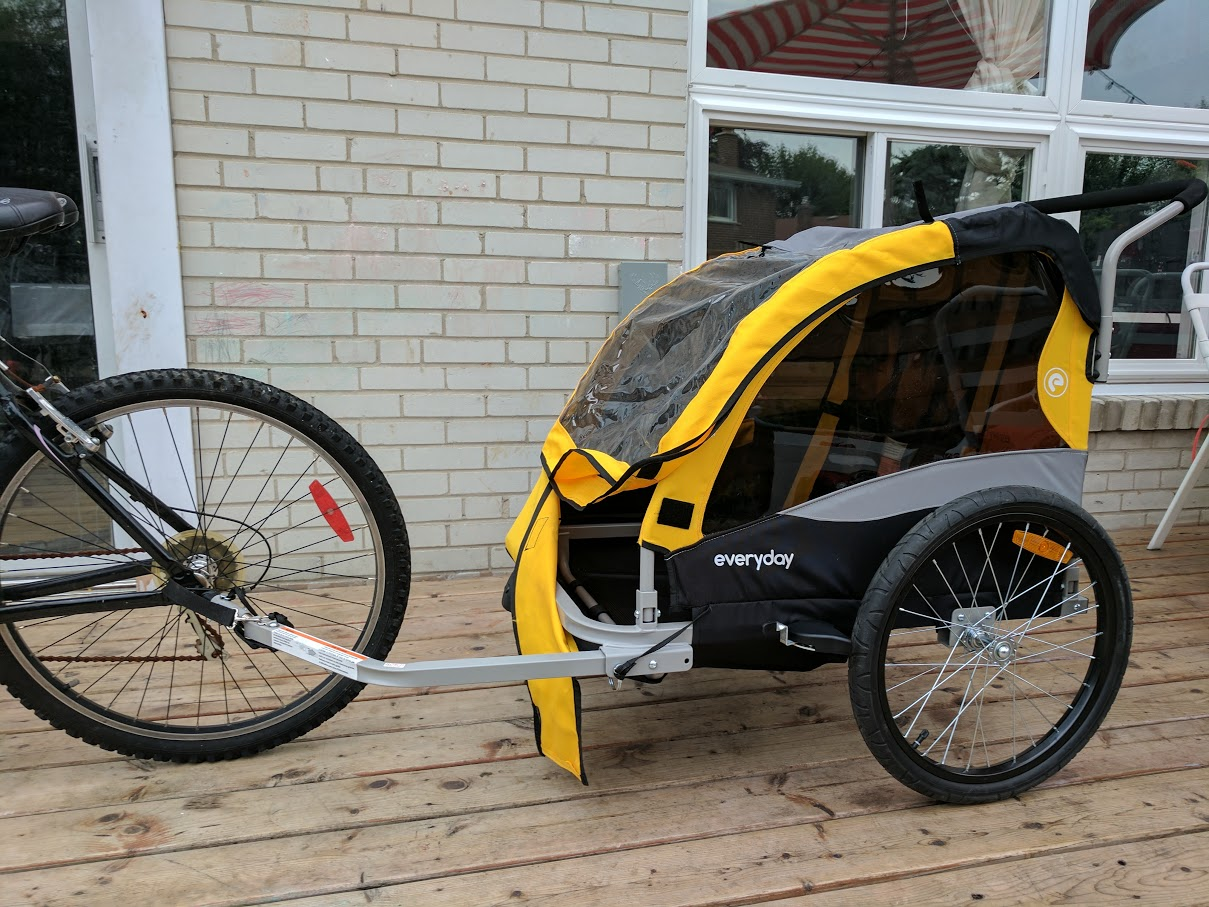 Extraordinary Adventures With Everyday Bicycles Traveler Lite Bicycle Trailer {Review}