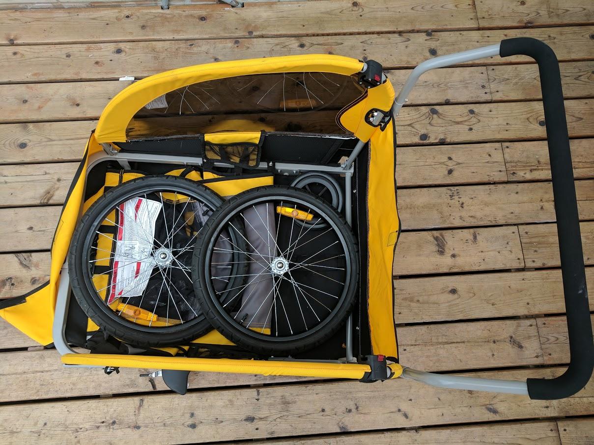 traveler lite bicycle trailer