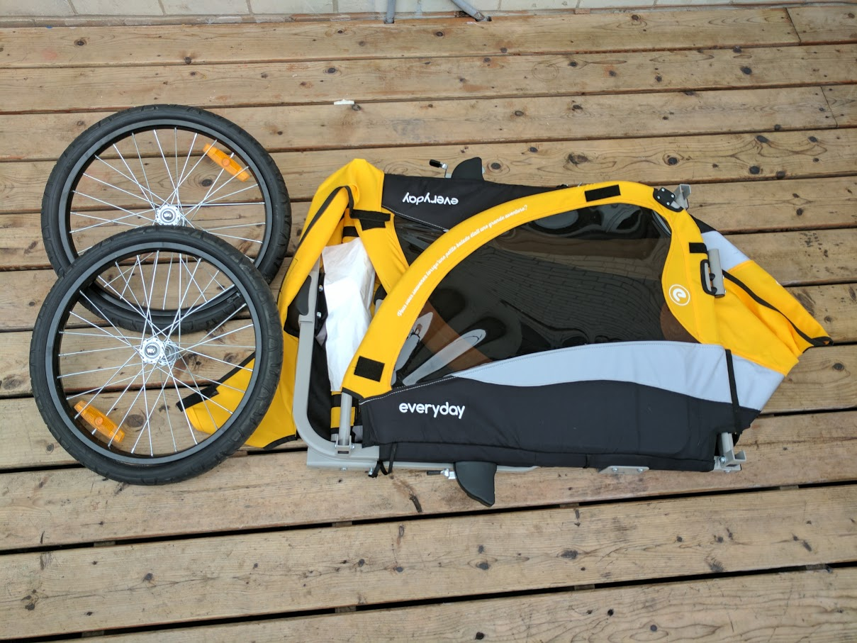 traveler lite bicycle trailer