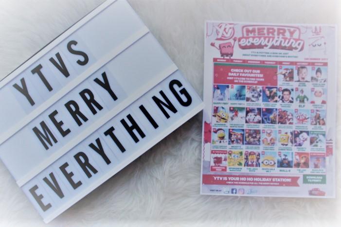 YTV Merry Everything Holiday Programming