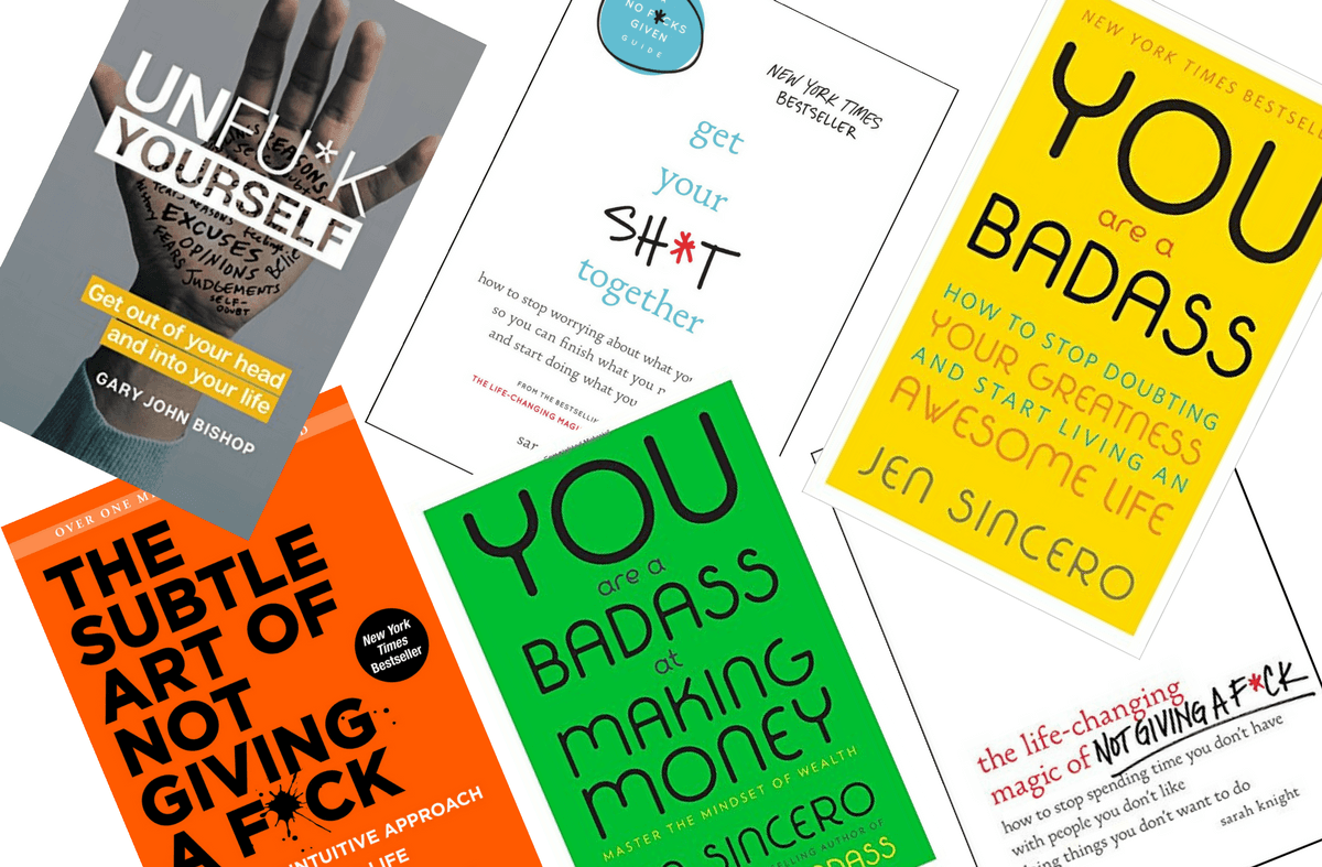 10 Best Motivational (Sweary) Books to Read Now to Make 2018 Amazing