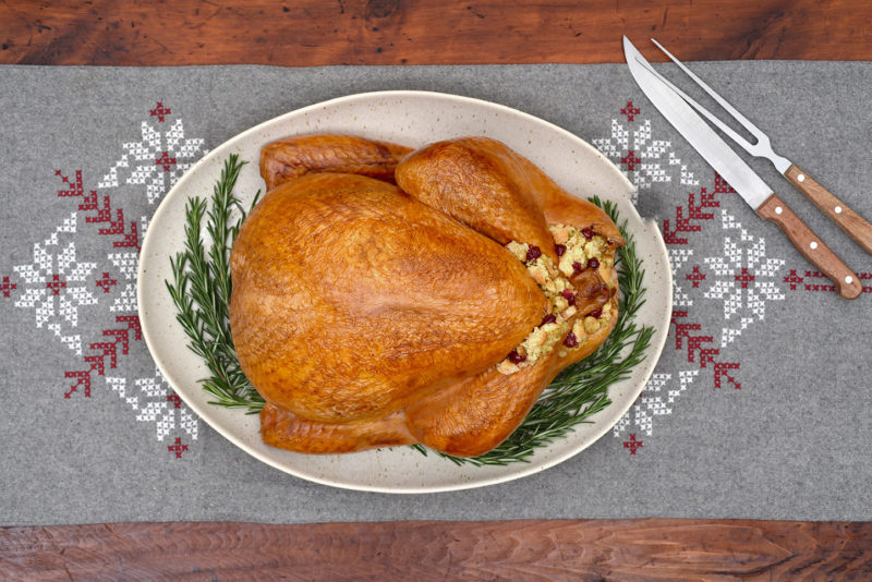 One-Pot Saucy Turkey Meatballs