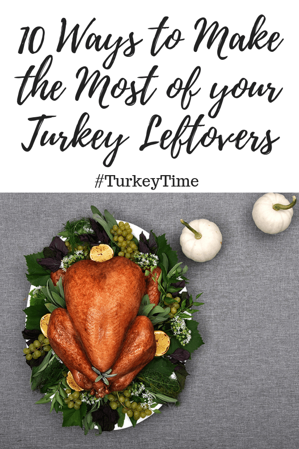 10 WAYS TO MAKE THE MOST OF YOUR TURKEY LEFTOVERS