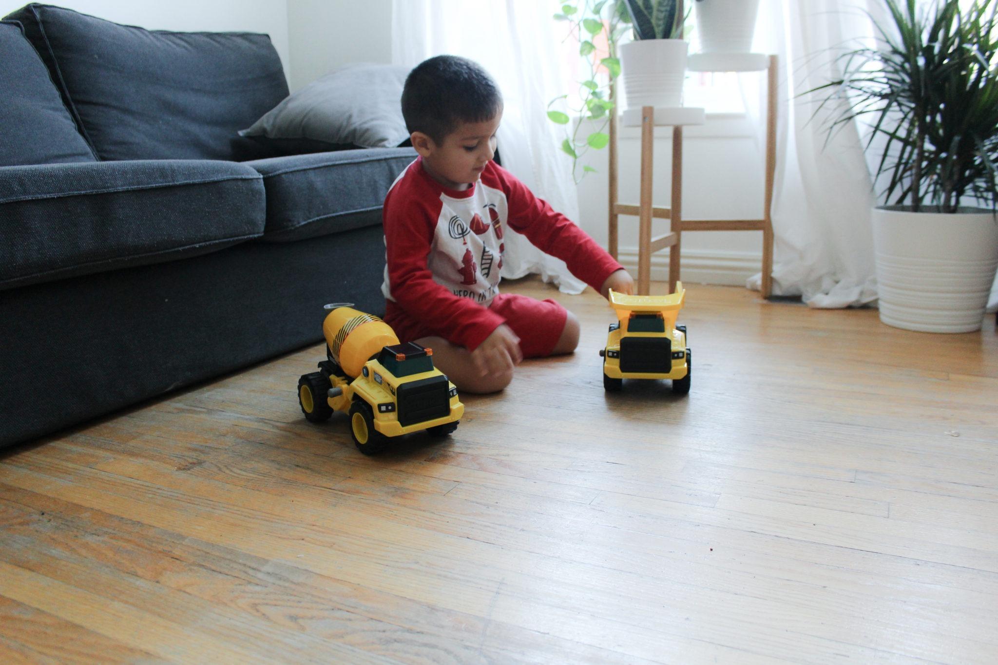 Tonka Power Movers Construction Trucks