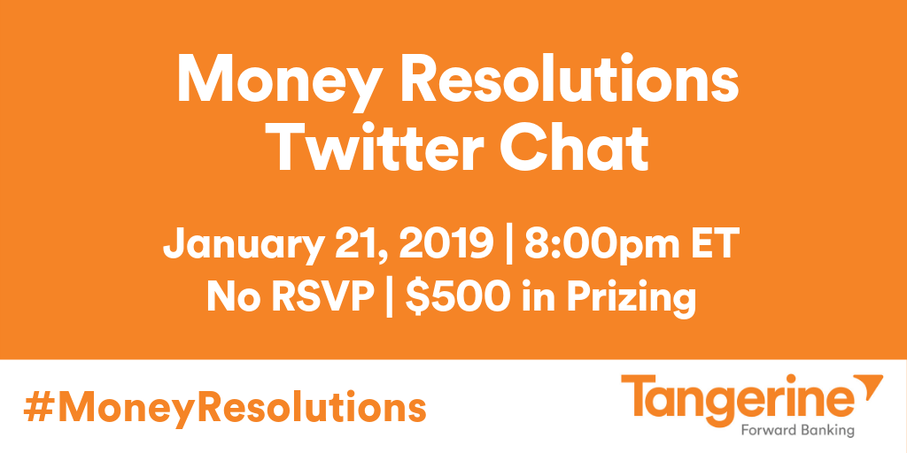 Money Resolutions Twitter Chat