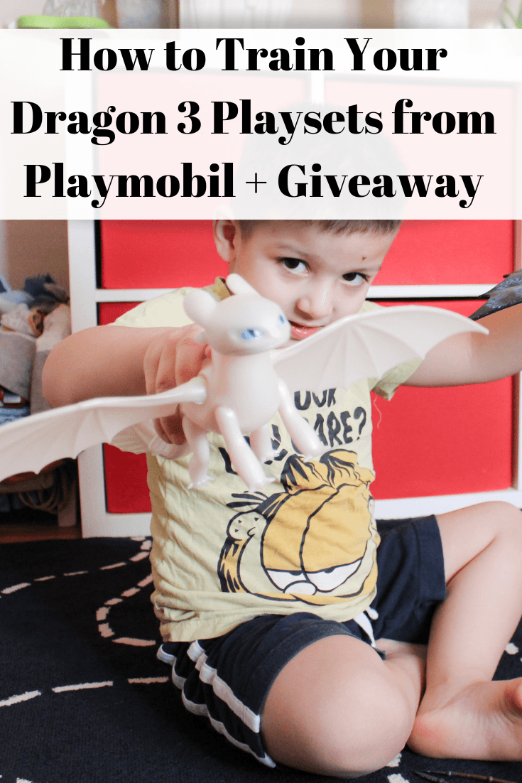 How to Train Your Dragon 3 Playsets from Playmobil + Giveaway