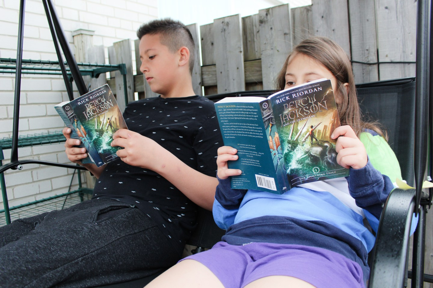 Summer Reading Challenge – Percy Jackson & the Olympians series